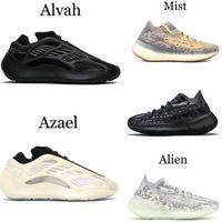 700 MNVN Kanye West sapatos de corrida 700 V3 Alvah Azael 3M 380 névoa Estrangeiro homens sapatilhas EUR 36-46