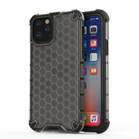 Per caso di iPhone Heavy Duty antiurto Honeycomb Dual Layer Casi armatura robusta per iPhone Pro 11 Max XS XR 8 Samsung note10 più