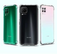 Transparent antichoc acrylique Hybride Armure Dur Retour Housse Pour Huawei P20 P30 P40 Pro Lite Mate20 Mate30 Pro Y9S Samsung Moto LG