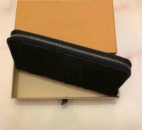 M60002 Designer di lusso Lungo Zippy Quality Portafoglio Pelle da donna Organizzatore in pelle Zipper Mono Gram Good Canvers Abjlx