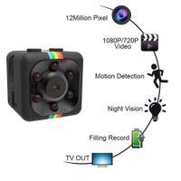 SQ11 1080P 자동차 DVR 대시 캠 나이트 비전 캠코더 휴대용 미니 마이크로 스포츠 카메라 비디오 레코더 캠 DV 캠코더 CCTV IR