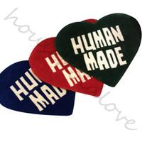 Творческий ковер HUM MADE Любовь Ковер Мат Ins Гостиная Спальня Сердце образный Напольный коврик Tide украшения Идея ковер ручной работы