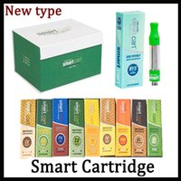 22 Sapore per opzione Smartbud Smart Cart Vape Cartucce 1.0ml Ceramic Coil 510 Thick Oil SmartCarts Vapor Vs Dank Vapes Kingpen Cartridges