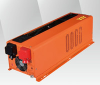 LED 6KW DC48V AC120V240V 분할 위상 듀얼 출력 순수 웨이브 전력 인버터 / 배터리 충전기 ACDC 변환 / 새로운 버전 / 끄기 그리드 / 재고 있음 / 공장 보내기