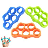 2020 Finger Resistance Bands finger Hand Grip Muscle Power T...