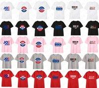 Kadınlar Erkekler shrit Joe Biden 2020 Bize Seçim Mektupları Baskılı Unisex Yaz tişört En Tees Yetişkin Günlük Spor Giyim D7209