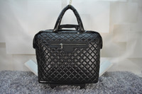 Neue Diamantgitter Down Stoff Große Größe Reisetasche mit Riemenscheibe Gute Qualität