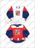 Cheap wholesale custom CZECH REPUBLIC WHITE RED WORLD CUP OF...