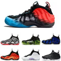 Hot Penny Hardaway Foams Eine Alternative Galaxy Herren Kinder Basketballschuhe pro Armee Camo schwarz metallic gold Red Männer Trainer