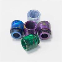Tips de goteo de resina epoxi Vape Vape para 810 hilo TFV12 Prince TFV8 x Big Baby Big 528 E CIG TANK ATOMIERTE DRIPTIPC ACCESORIOS