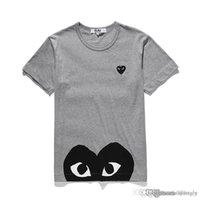 2018 COM Best Quality Men Women Gery CommeS des GARCONS manija total T-shirt Blanco Talla M decisión rápida F / S