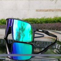 Venta al por mayor-New Llegada Masculino Gafas de sol polarizadas Ciclismo Gafas Running Sports Sunglasses