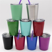 9OZ Wine Glasses 304 Stainless Steel Thermos 10 Colors Porta...