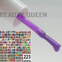 223 couleurs disponibles ~ 6x Soak-Off Gel Nail Art LED UV poli + 1x top coat + 1x couche d'apprêt de base Soak Off * Durcissement Varnish HAUTE QUALITÉ *