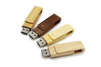 Good quality wholesales Mini order 5pcs usb drives 64gb USB flash drive 4gb 8gb 16gb 32gb pen drives Maple wood usb stick
