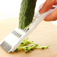 Manual do vegetal plástico Shredder Multifunction Slicers pepino Cortador de Legumes Fruta Peel Shredder Slicer Kitchen Tools OOA7458