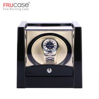 Black Single Watch Winder for automatic watches watch box au...