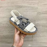 Sandals summer new style Leather hemp rope Weaving colored t...