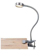 USB Kablosu Esnek Gooseneck Dim Kitap Lambası İçin Masa Yataklı Portatif LED Klip-Okuma Lambaları 3 Parlaklık Şarj edilebilir