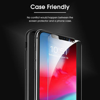 Pour Iphone SE2 SE 2020 11 Pro MAX 8 7 6Plus XS MAX XR HD clair Protecteur d'écran 9H Bubble gratuit Shatter Proof Cas amical en verre trempé