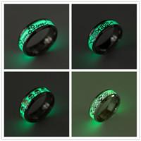Мода из нержавеющей стали светятся в темноте кольца любовь черепа Иисуса масонство электрокардиограмма серебристые ювелирные изделия кольцо бесплатно выбрать