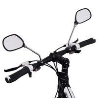 Un paio di biciclette vetro dello specchietto SPECCHI Wide Range Torna Sight Riflettore angolo regolabile in vetro Specchi Bike specchio