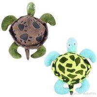 Pet Dog Tortoise Chew Toy Fun Clean крохотные доказательство Плюшевые Черепаха Фигурка Укус-Звучащая Собаки Игрушки для питомцев