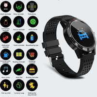 T1 Smartwatch Health Sport Wearable Device Monitoraggio di fitness Monitor Display a colori Smart Watch Uomo Donna Bambini Per Android IOS