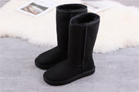 2020 australia ug wgg Womens ugg women men kids uggs slippers furry boots slides  Classic tall half Boots  fluff yeah boots Snow Winter black slides ankle leather shoes