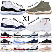 Designer Concord 11 basketball shoes 11s with keychain mens ...
