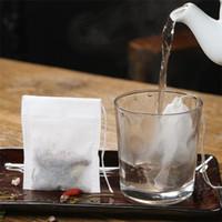 Мода Горячие пустые Пасштабы Чайник Чайные пакеты String Heal Pear Hear Paper Paper Peak Paking 5,5 x 7см для травы Свободный чай
