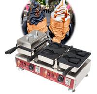 Sıcak Satılık Ücretsiz Kargo Maliyeti Elektrik Japon Stili Fishtail Dondurma Taiyaki Makinesi Yüksek Kalite Yapışmaz Kaplama