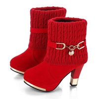Designer shoes Martin boots 2019 winter new European and Ame...
