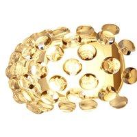 Moderne Caboche Wand sconce Gold Acryl Ball Flurway Lampe Home Wohnzimmer Küche Light Decor Beleuchtung Fixture WA045