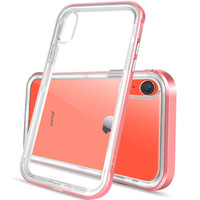 For Iphone Xr Case Luxury Clear Hybrid Soft TPU Hard PC Back...