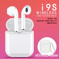 I9S TWS Wireless Bluetooth 5. 0 Earbuds Twins Headphones Ster...