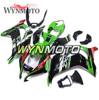 Top vendita Elf Green Black Injection NINJA ZX-10R 16-18 Carene complete per Kawasaki ZX10R ZX-10R 2016 2017 2018 ABS Plastica Cowlings