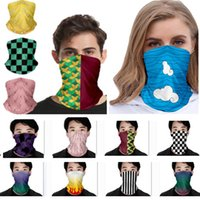 Gezicht masker afdrukken buitensporten naadloze bandana hoofddeksels hoofdband nekwarmer magische sjaal hals vissen gezicht schild masker HH9-3037