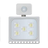 LED-Lampe 30W Außenbeleuchtung Flutlicht-Infrarot-Sensor-Hausgarten Balkon Außentür Lampe wasserdichtes IP65 US-Lager Senden kostenlos
