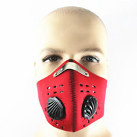 Máscara Anti Poluição bicicleta Outdoor Sports Ciclismo Máscara Facial Filtro para andar de bicicleta Viajar Ciclismo Máscaras OOA5044