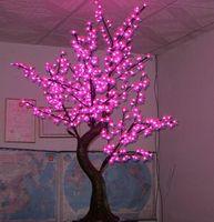 2 м 6.5ft светодиодный вишневый цвет открытый крытый рождественские свадьбы сад праздник свет деко 1152 светодиодов водонепроницаемый 7 цветов опция