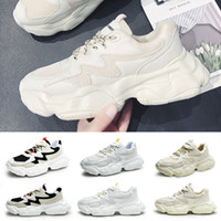 Top Mens Running Shoes Cool Black white Fashion Creepers dad High Quality Men Women Running Trainer sports Sneakers 39-44