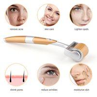ZGTS فاخرة 192 التيتانيوم مايكرو الإبر الجلد العلاج ديرما الرول لندب حب الشباب لمكافحة شيخوخة الجلد الجمال العناية تجديد
