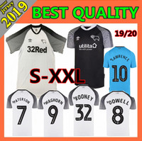 NEW 2019 Derby County Fußball-Jersey-19 20 PATERSON LAWRENCE DOWELL ROONEY Waghorn MARRIOTT Fußball Shirts