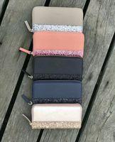 2019 brand designer glitter wallets shining new reißverschluss cluth bag 5 farben für frauen mit einem reißverschluss banknoten ordner