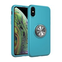 Hot Rodas Liquid Magnetic Ring Titular Shell Mobile PARA: iPhone 6 7 8 XS XR MAX Samsung Galaxy S8 S9 S10 NOTA9 PLUS
