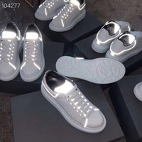 Luxury Women Casual Shoes New Designer Men Reflective Genuin...
