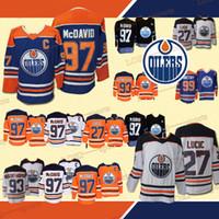 e9fd42031 Joueurs des Oilers d Edmonton 97 Connor McDavid 93 Ryan Nugent-Hopkin 27  Milan