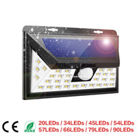 BRELONG solar outdoor waterproof panel charging PIR motion s...