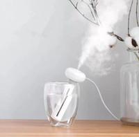 Umidificatore d'aria smontabile bianco Ciambelle Purificatore USB Diffusore di aromi Auto Nebulizzatore Deodorante per ambienti Umidificatori Diffusori nuovo GGA1882